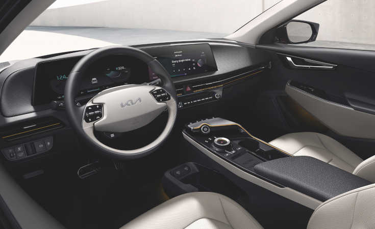 Kia EV6 Cockpit
