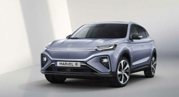 MG Marvel Electric: Euro-Offenisve mit Elektro-SUV