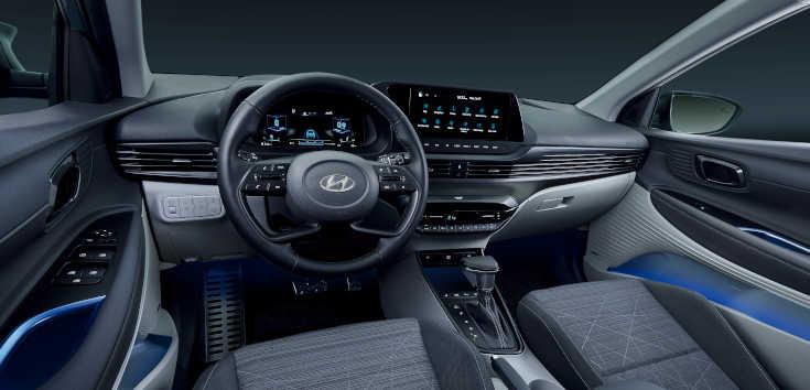 Hyundai Bayon 2021 Cockpit