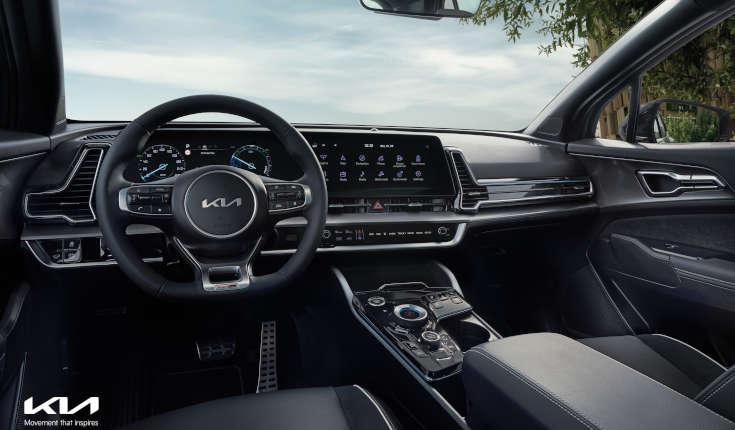 Kia Sportage V (2022) Cockpit